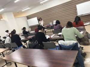 ひろさき若者サポートステーション・ジョブカフェあおもり共催イベント パーソナルカラー講座